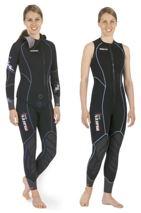 Muta Donna Bipezzo 5mm Mares DUAL SHE DIVES Tg. 2