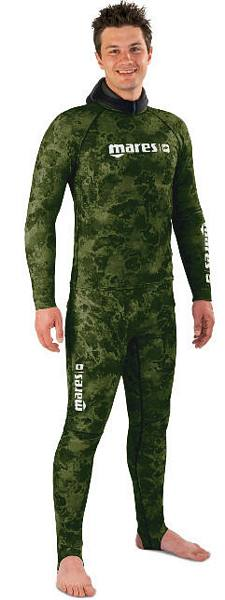 OUTLET - Coprimuta completo RASH GUARD CAMO GREEN TG II